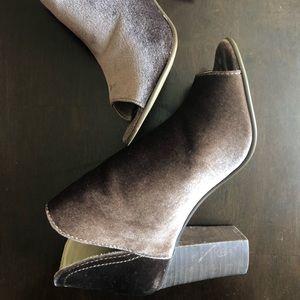 Steve madden open toe boots
